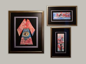 Complimentary frames create a collection