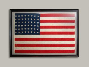 American Flag classic frame