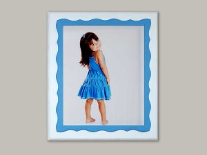 Custom whimsical frame